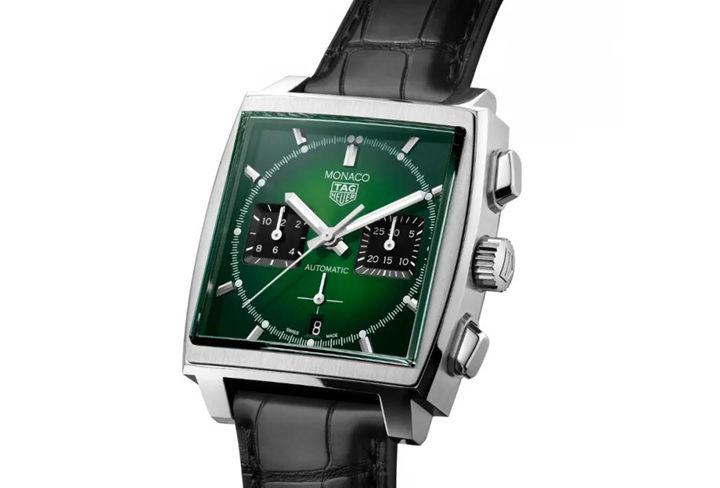 green Tag Heuer Monaco replica