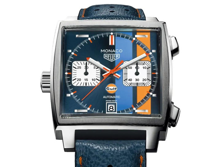Tag Heuer Monaco clone watch