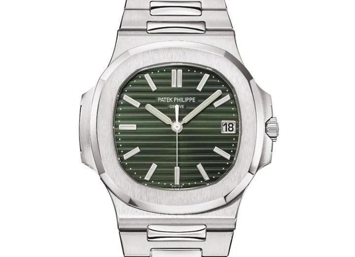 Green Patek Philippe Nautilus Clone Watch
